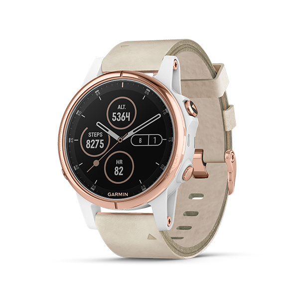 dong-ho-garmin-fenix-5s-plus,-rose-gold-with-beige-leather-band