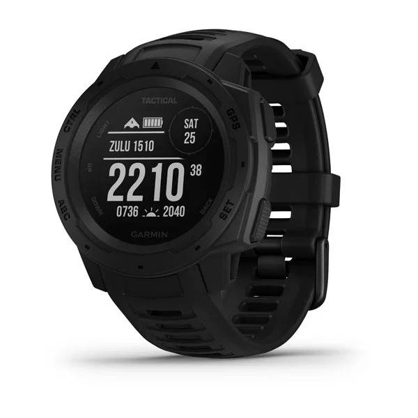 Garmin Instinct, Tactical Edition, Black