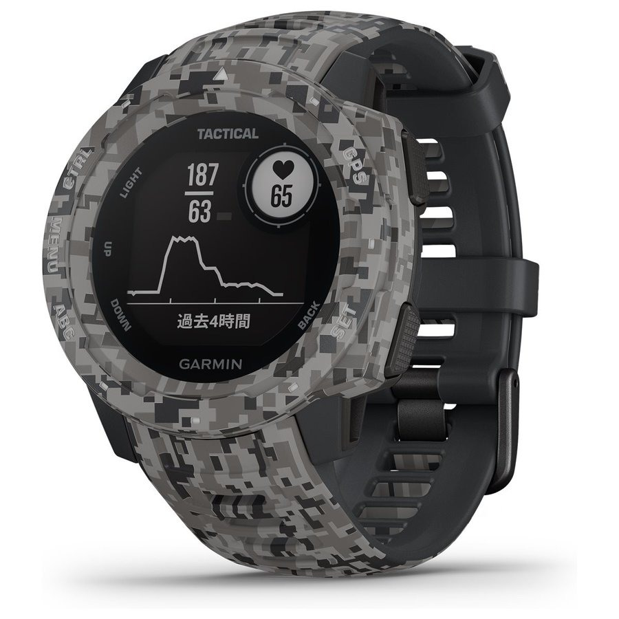 garmin-instinct,-tactical-edition,-camo-graphite