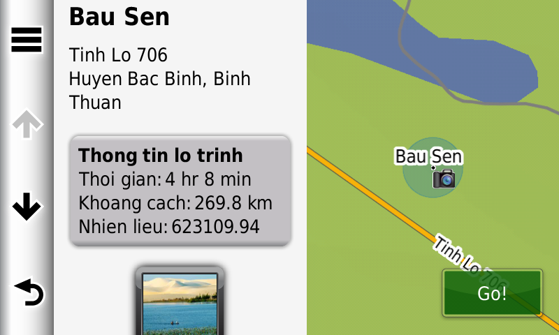 May dan duong o to - gps